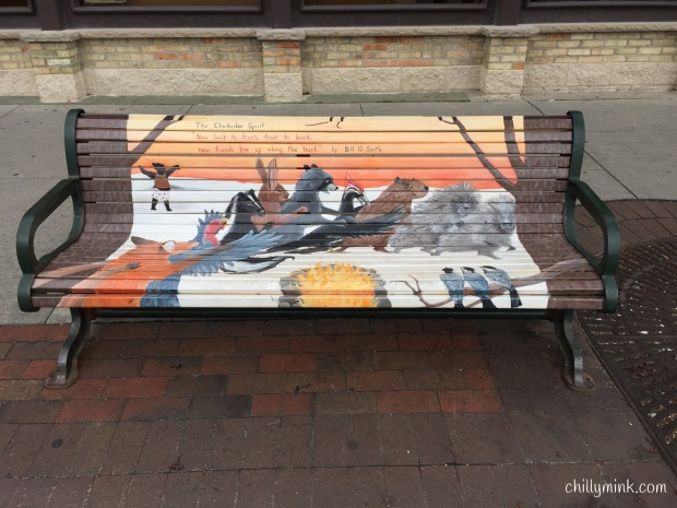 Wildlife Bench MIchigan