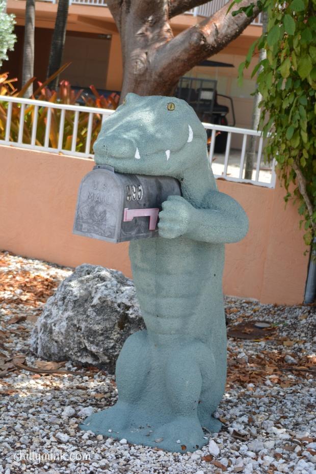 CM alligator mailbox