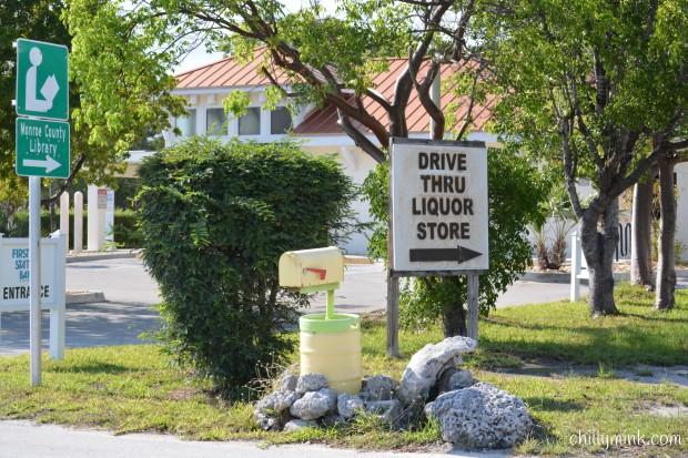 CM liquor store mailbox